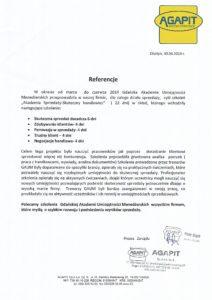 AGAPIT - Akademia Sprzedaży
