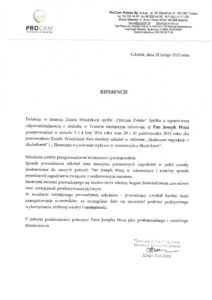 ProCam Polska Sp. z o.o. - Negocjacje i Windykacja