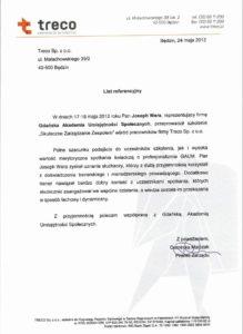 Treco Sp. z o.o. - Skuteczne Zarządzanie Zespołem
