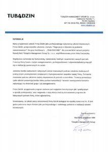 Tubądzin Management Group Sp. z o.o. - Team Building