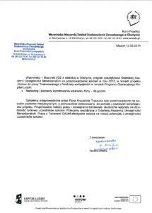 ZDZ Olsztyn - MARKETING