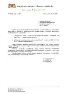 MOPR Gdańsk - Zarządzanie