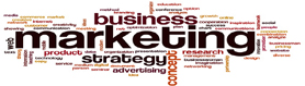 Marketing word cloud concept
